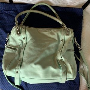 Mint green Rebecca Minkoff bag